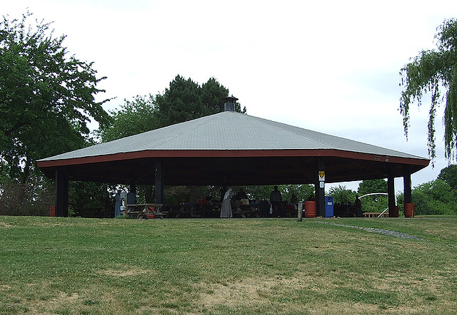 The Pavilion at the Picnic on the Rhine Event, June 2007