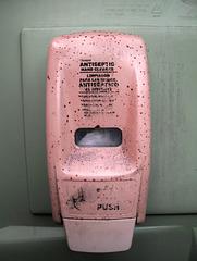 ¡Limpiador para las manos, antiséptico al instante!