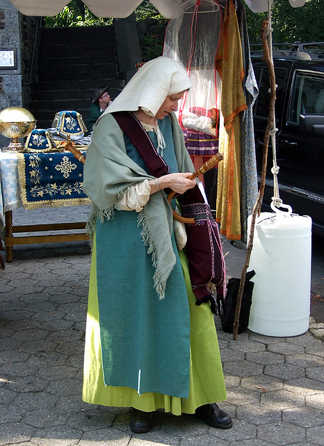 The Greek Orthodox Church Booth at the Fort Tryon Park Medieval Festival, Sept. 2007