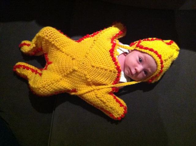 Hazel the starfish