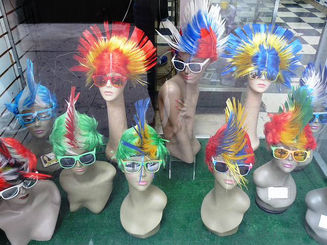 wigs of the world