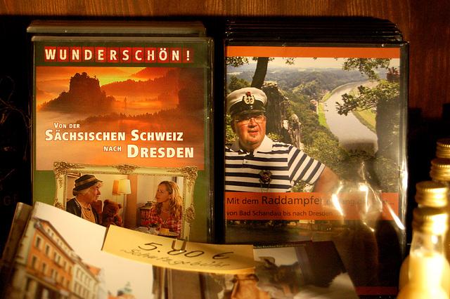 MIRINDE BELA! (tv-serio de WDR) De saksa Svisujo ĝis Dresdeno + Sur la radvaporŝipo de Bad Schandau ĝis Dresdeno