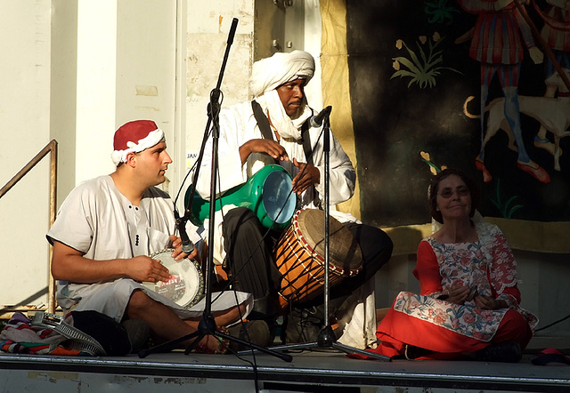 Middle Eastern Musicians at the Fort Tryon Park Medieval Festival, Sept. 2007