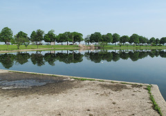 Favourite old beloved Frederick Law Olmsted vistas across expansive lagoons of landscape architecture.