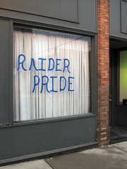 Every heart in town is enlarged and warm with gladness at the news of our raiders' recent pillagings.