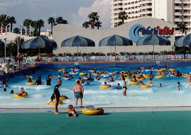 ipernity: Wave Pool at the Wet 'N Wild Water Park in Las