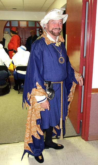 Lord Llewellan at Agincourt, November 2007