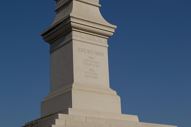 Tuttle, CA Fancher monument (0594)