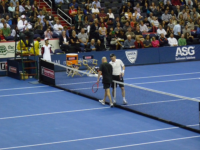 Agassi and Courier