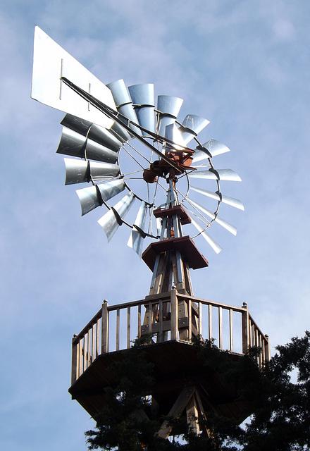 Windmill at Sagamore Hill, May 2012