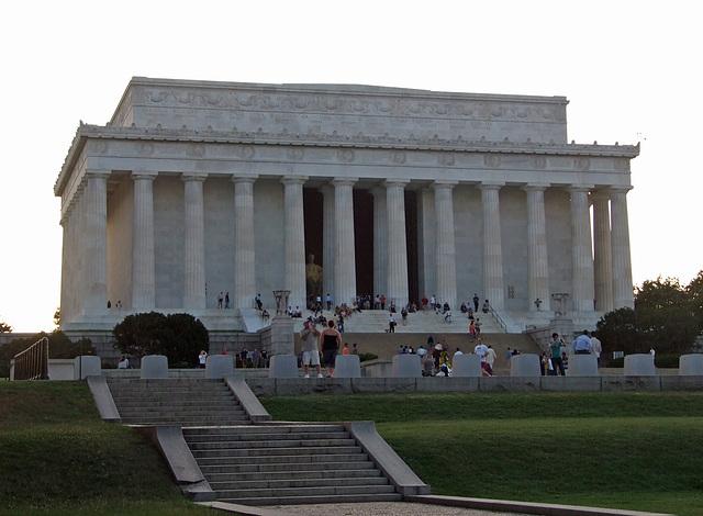 The Lincoln Memorial in Washington DC, September 2009