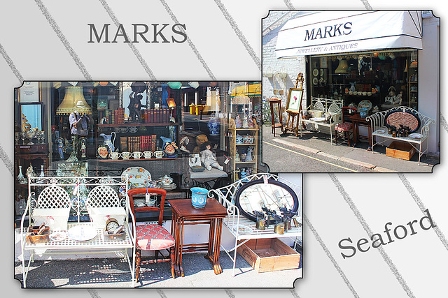 Window displays - Marks - Seaford - 18.7.2013