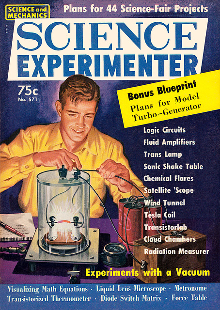 Experiments with a vacuum