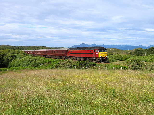 57 601 at Plockton with 1H81