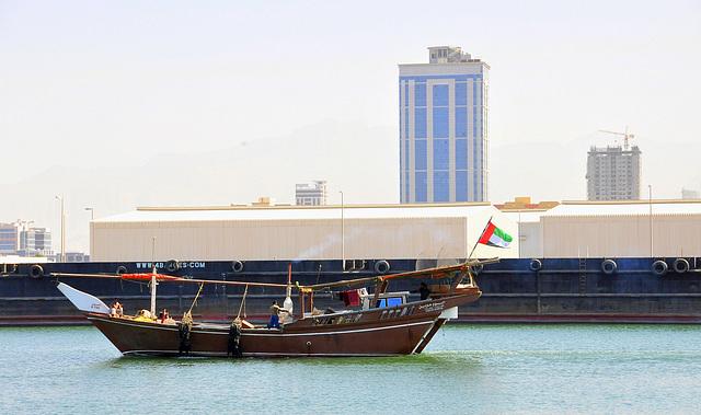 Ras al Khaimah - Hafen