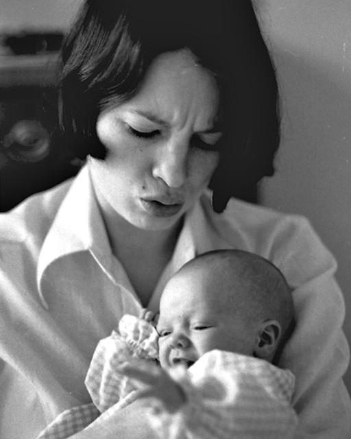 Bringing Home Baby Elise, 1974