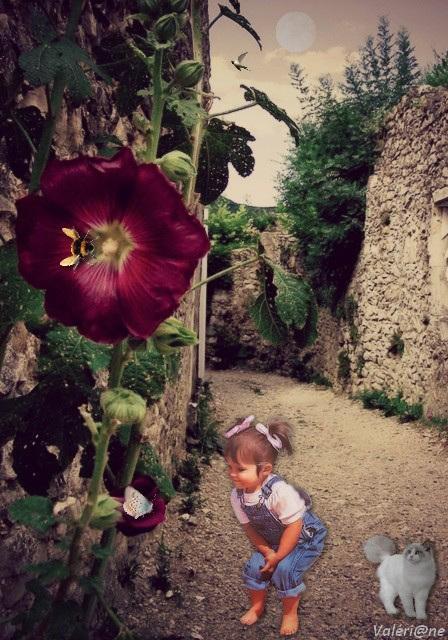 La fleur géante