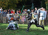 Sir Diablu Fighting at the Fort Tryon Park Medieval Festival, October 2009