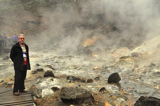 Ĉio malbonodoras ĉe la kuirejo de la diablo en Islando