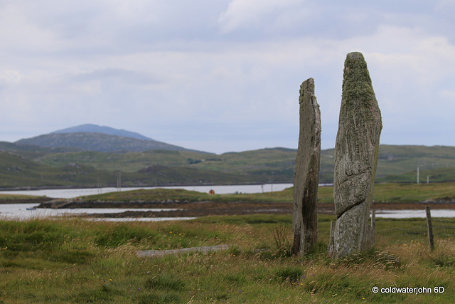Two major uprights from Callanish Stone Circle #2