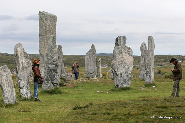 Callanish Stone Circle #1 - Who is photographing whom?