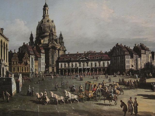 der Neue Markt in Dresden