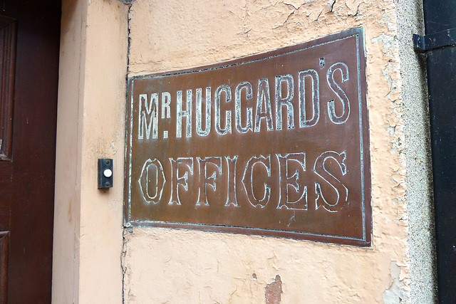 Wexford 2013 – Mr. Huggard's Offices