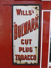"Wexford 2013 – Wills's ""Bulwark"" cut plug tobacco"