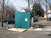 Winston-Salem dumpster fence.
