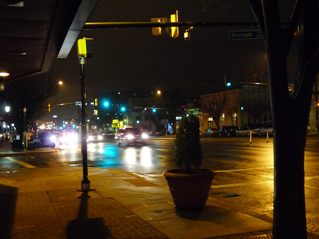 evening lights