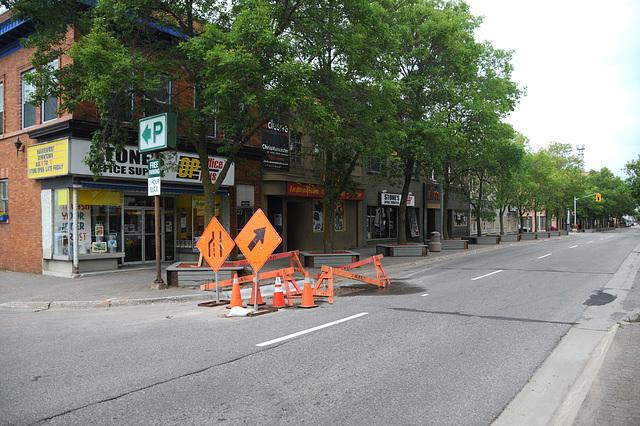 Queen Street, looking west