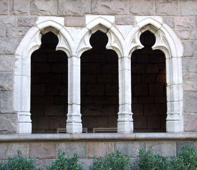 Window in the Cloisters, October 2010