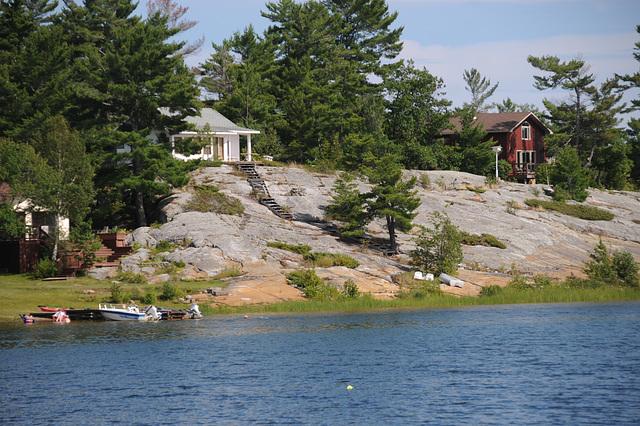 Cliffside cottages