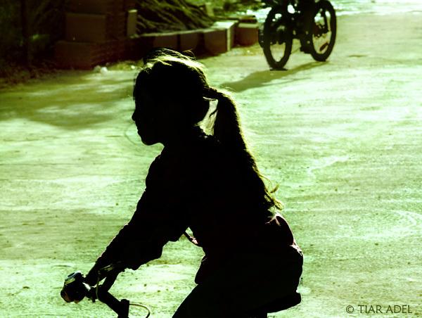 La fille à la bicyclette