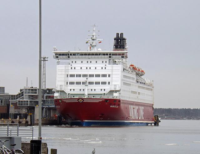 Viking Cruise Ship in Helsinki, April 2013