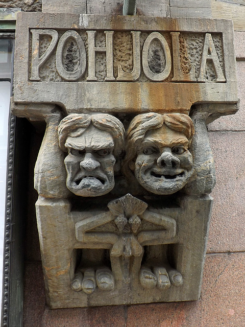 Relief on a Building in Helsinki, April 2013