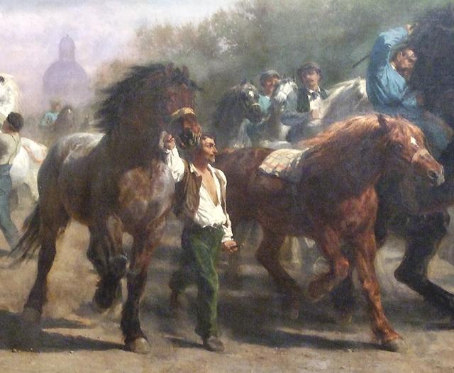 rosabonheur_detail of the horse fair by rosa bonheur in the metropolitan