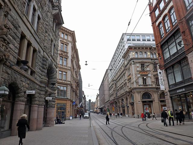 Street in Helsinki, April 2013