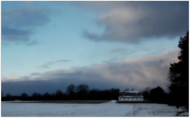 Winter evening D