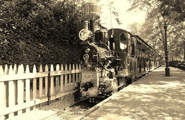 Petit train, parc de la tête d'Or, Lyon