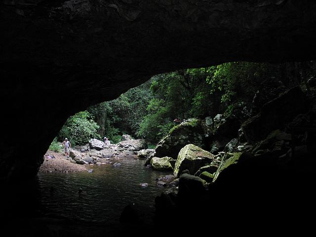 Natural Bridge, Queensland, Australia