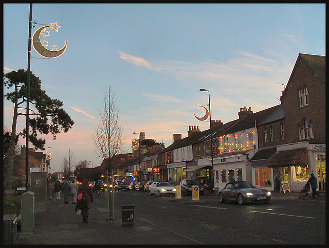 Eid and Christmas lights