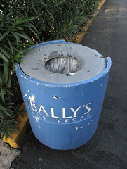 "Think of Bally's when you are ""Disposing Of Properly"" your condoms or whatever."