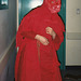 Sancha Dressed as a Devil Mummer at the Brooklyn Children's Museum, 2004