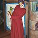 Sancha Dressed as a Bird Mummer at the Brooklyn Children's Museum, 2004
