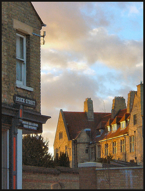 Essex Street corner