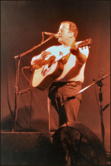 Irish ballad singer