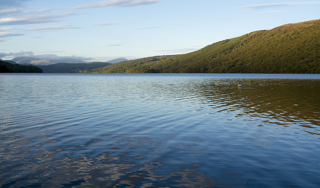 Evening Light at Coniston Water