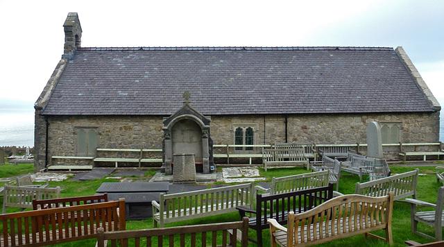 st.tudno's church, great orme, llandudno