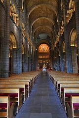 MONACO: Intérieur de la Cathédrale.